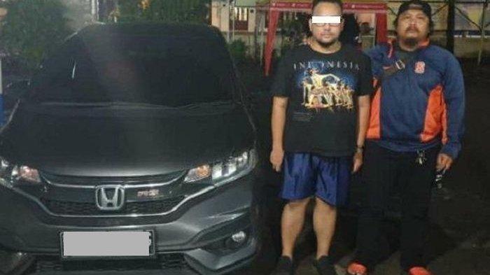 Video Pria Nekat Curi Mobil Honda Jazz, Istrinya Lupa Dibawa & Ditinggal di TKP, Aksinya Viral!