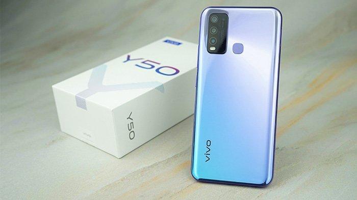 Harga dan Spesifikasi Vivo Y50, Ponsel dengan Baterai 5000mAh dan Fitur Jovi Smart Scene