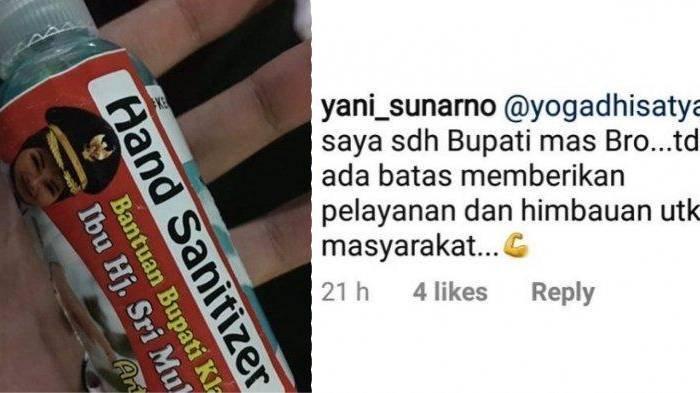 Tengah Viral, Komentar Bupati Klaten Sri Mulyani di Masa Lalu Jadi Sorotan: Saya Sudah Bupati Masbro