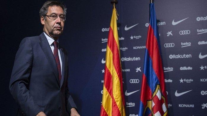 Bartomeu Sebut Kekalahan Memalukan Barca bak Bencana Barcelona vs Bayern Munchen