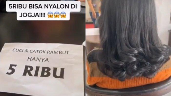 Begini Kata Pelanggan VIRAL Salon di Jogja Patok Harga Rp 5 Ribu buat Perawatan Rambut