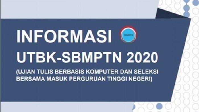 Berikut Daftar PTN & Jadwalnya Daftar UTBK-SBMPTN 2020 Login portal.ltmpt.ac.id