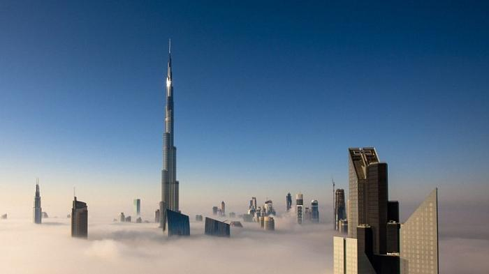 Gedung Pencakar Langit di Dubai yang Punya 3 Zona Waktu Puasa Burj Khalifa