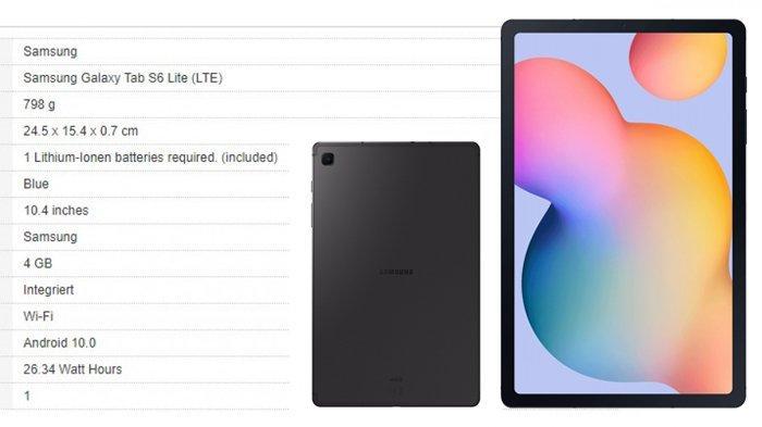 Hanya Rp 7 Jutaan Harga & Spesifikasi Galaxy Tab S6 Lite
