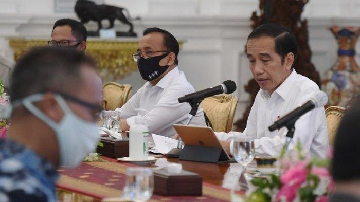 Jangan Kerja Biasa-biasa Saja Kembali Kritik Kinerja Kabinet di Rapat Terbatas Presiden Jokowi