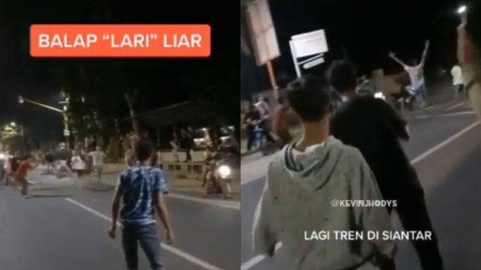 Pengunggah Ungkap Agar Lebih Sehat & Sebut Dampak Negatifnya Viral Video Balap Lari di Jalan Raya